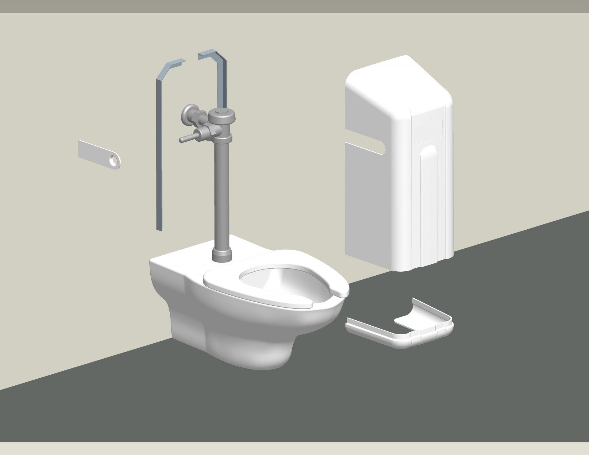 Toilet Flush Cover : Ligature resistant flush valve cover behavioral safety