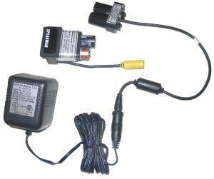 A/C adapter kit for ligature resistant sensor faucet