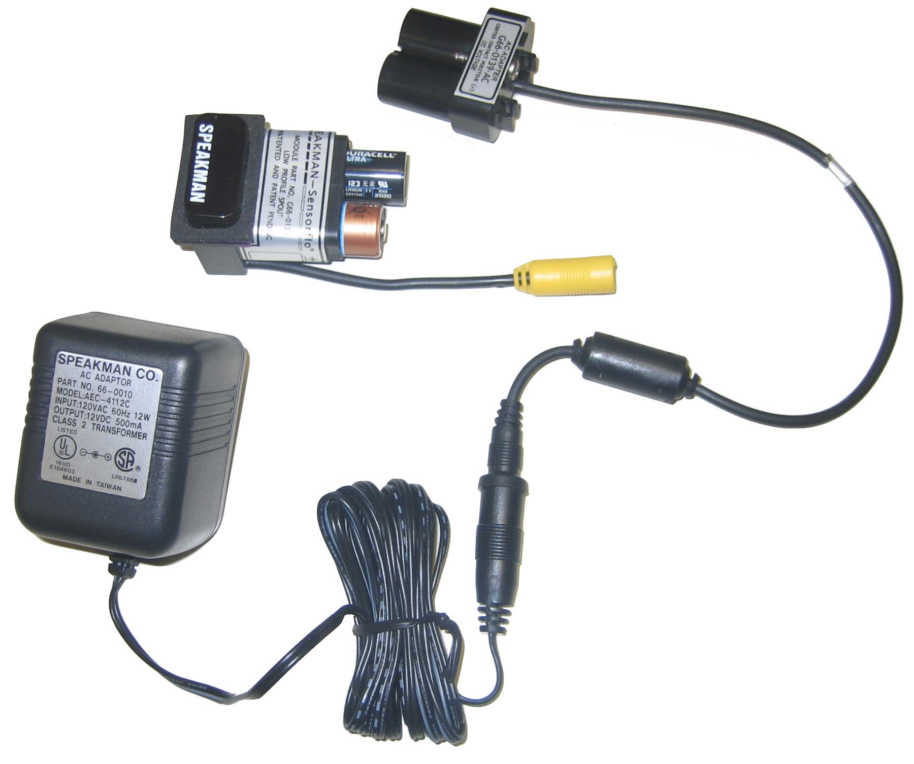 AC Adapter Kit - Behavioral Safety Products | Ligature Resistant