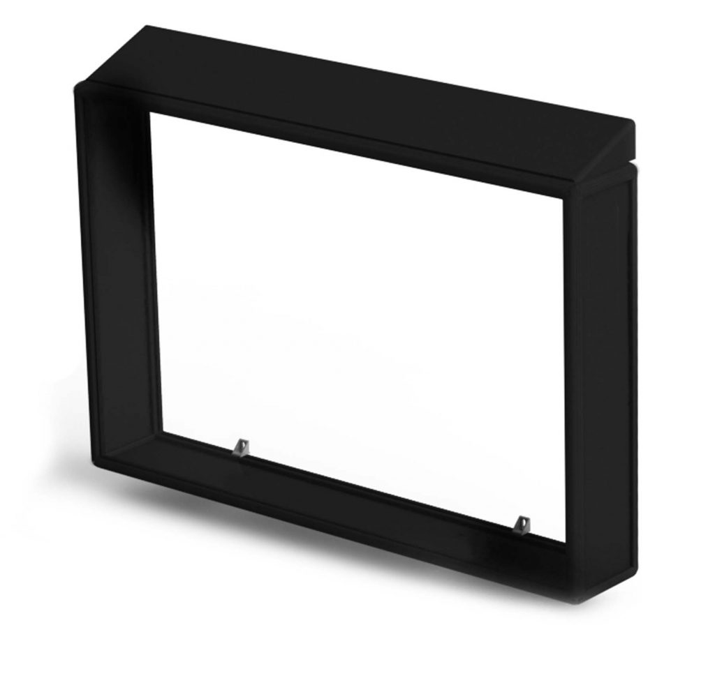 Ligature resistant TV enclosure without a TV inside