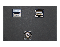 Ligature Resistant Protective TV Enclosure - Lock and Key System