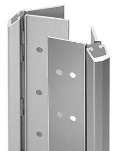 silver ligature resistant door hinge