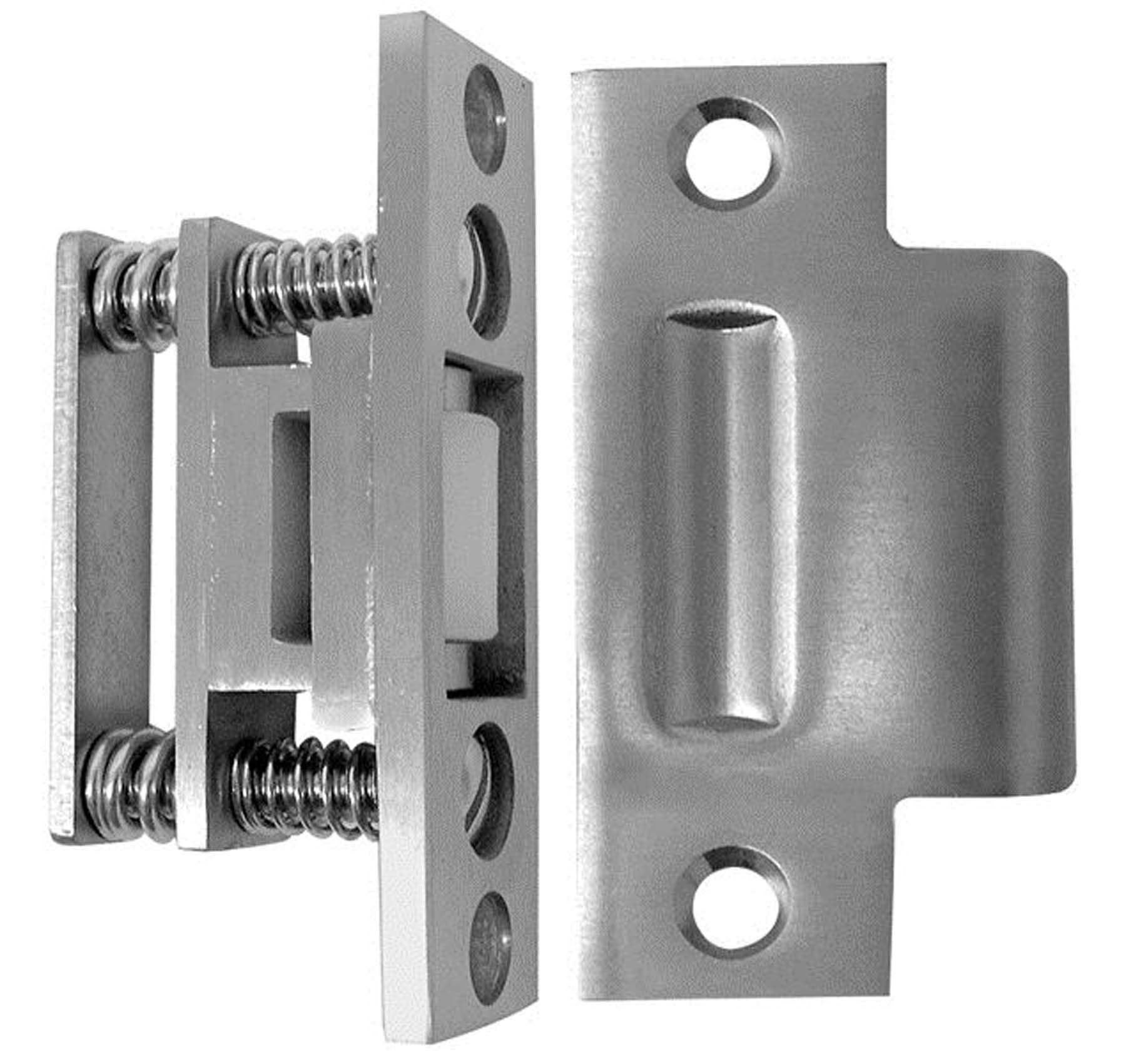 Suicide resistant stainless steel roller latch, 2-3/4″ strike