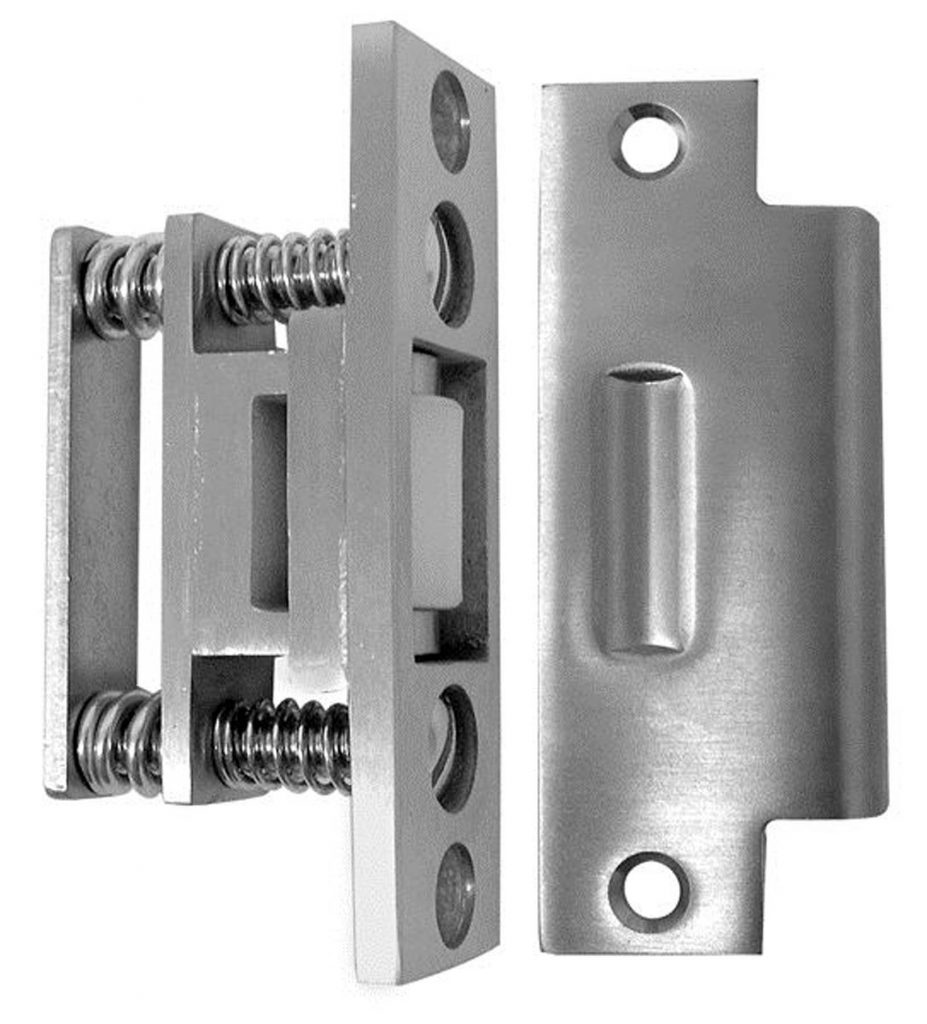 Suicide resistant stainless steel roller latch, 4-3/4″ strike