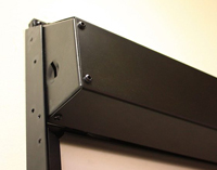 WebbLok Suicide Resistant Solar Screen Shade up close