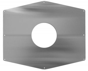 Remodeling cover plate for ligature resistant shower valve