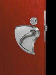 Ligature Resistant Integrated Door Lever – Mortise