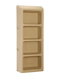 Suicide Resistant Attenda 4 Shelf Storage Unit