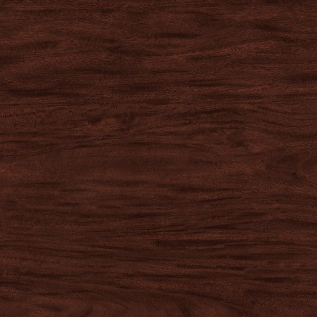 Wood laminate option in Figured Mahagony for the suicide resistant attenda desk
