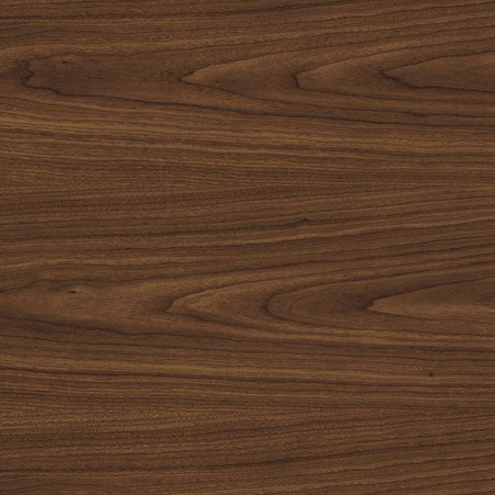 Wood laminate option in Montana Walnut for the suicide resistant attenda desk