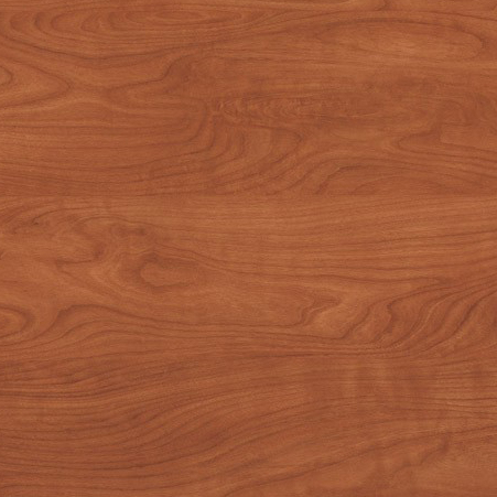 Wood laminate option in Wild Cherry for the suicide resistant attenda desk