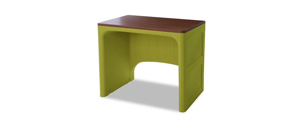 Suicide resistant attenda desk in Meadow color option