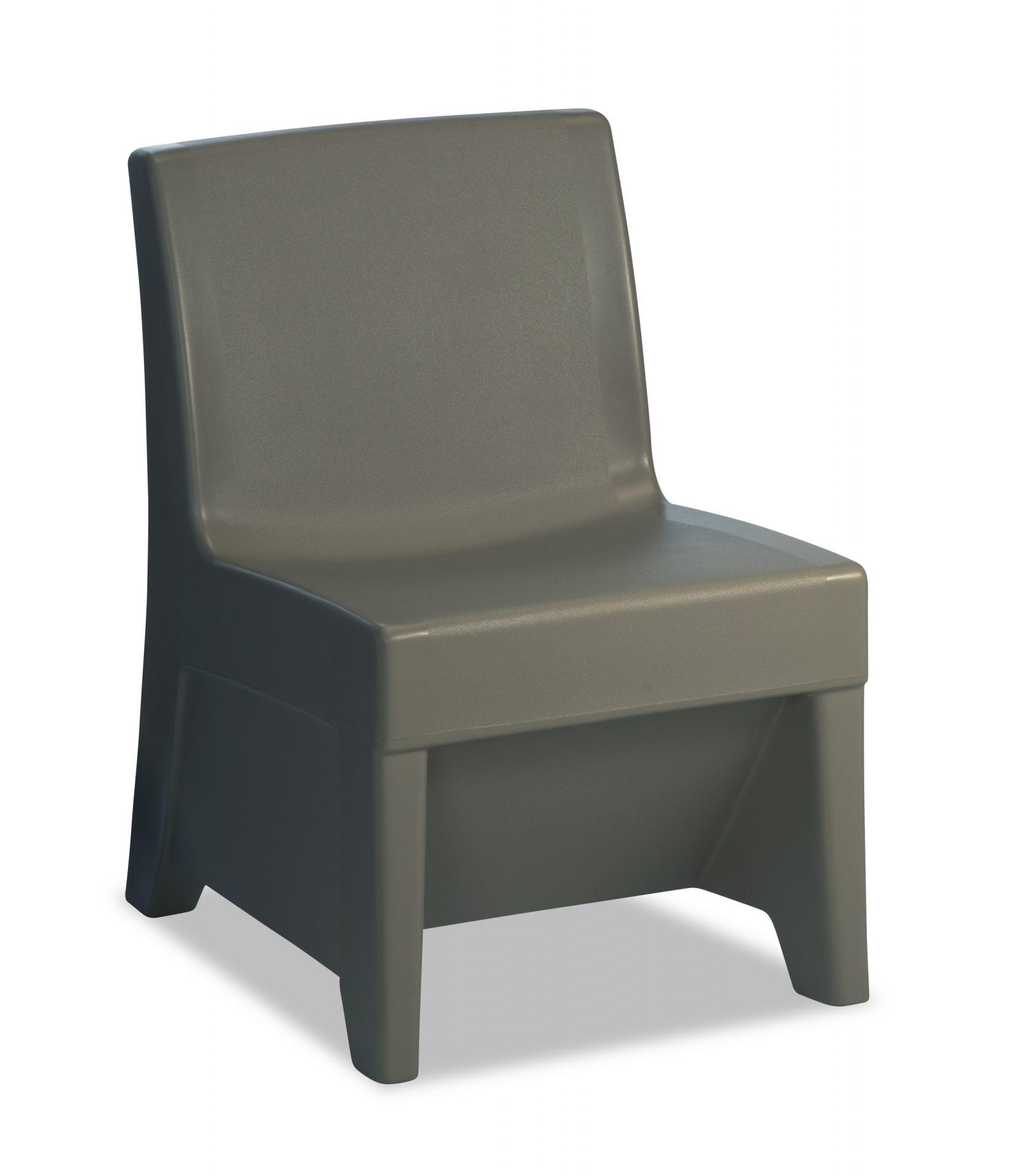 Graphite color ligature resistant chair
