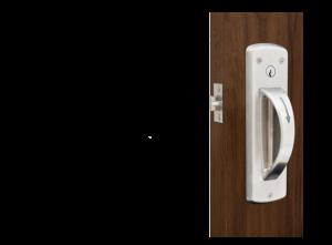 5-Point Ligature Resistant Door Latch Set – Cylindrical