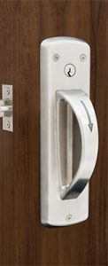 5-Point Ligature Resistant Door Latch Set - Cylindrical