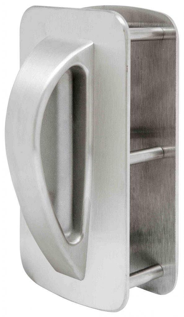 5 Point Ligature Resistant Back to Back Push/Pull Dummy Handle