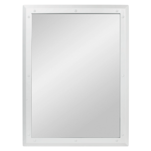 Ligature Resistant Bathroom Mirror - Face On
