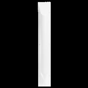 Ligature resistant grab bar in vertical position