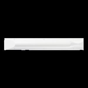 Ligature resistant grab bar in horizontal position