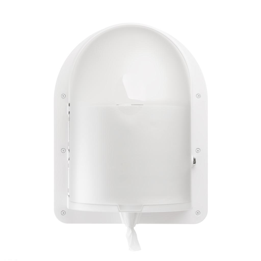 Ligature Resistant Paper Towel Dispenser - Front Angle