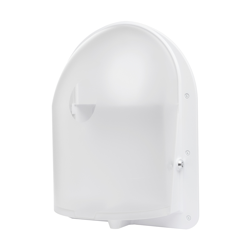 Ligature resistant paper towel dispenser
