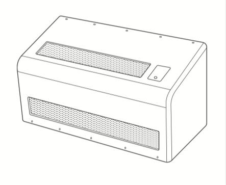 TA640 Ligature Resistant PTAC Cover