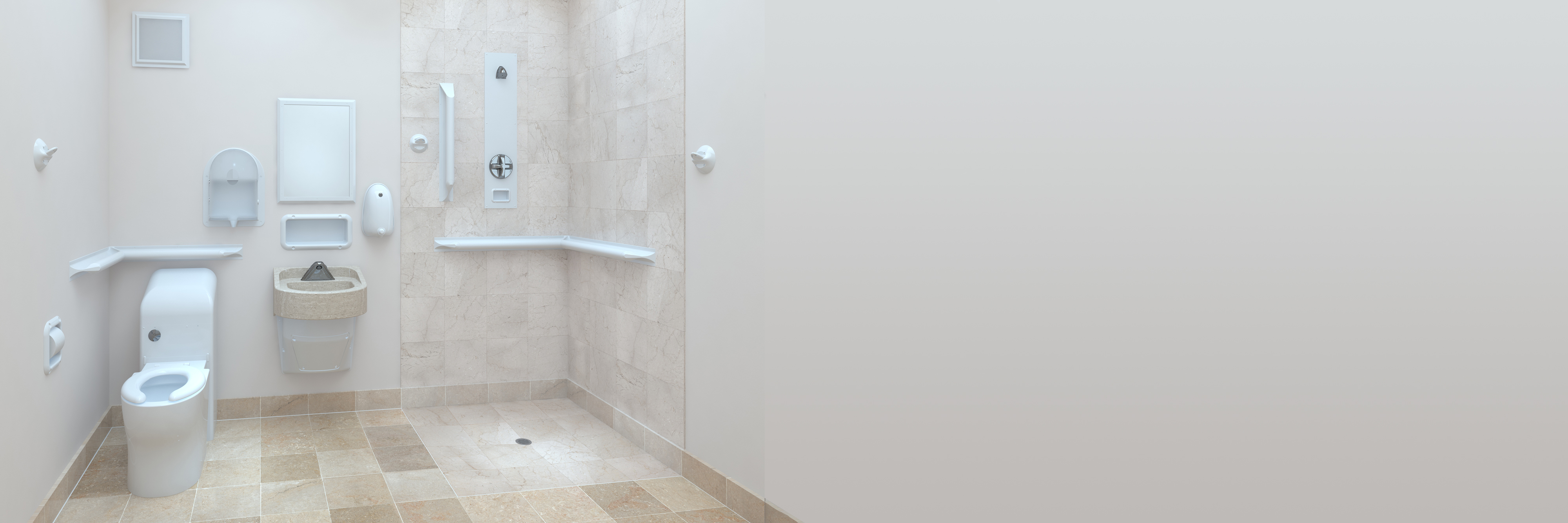 Ligature Resistant Products in bathroom