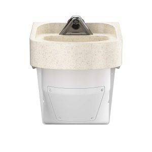 Ligature Resistant Sink - Front Angle Color