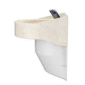 Ligature Resistant Sink - Side Angle Color