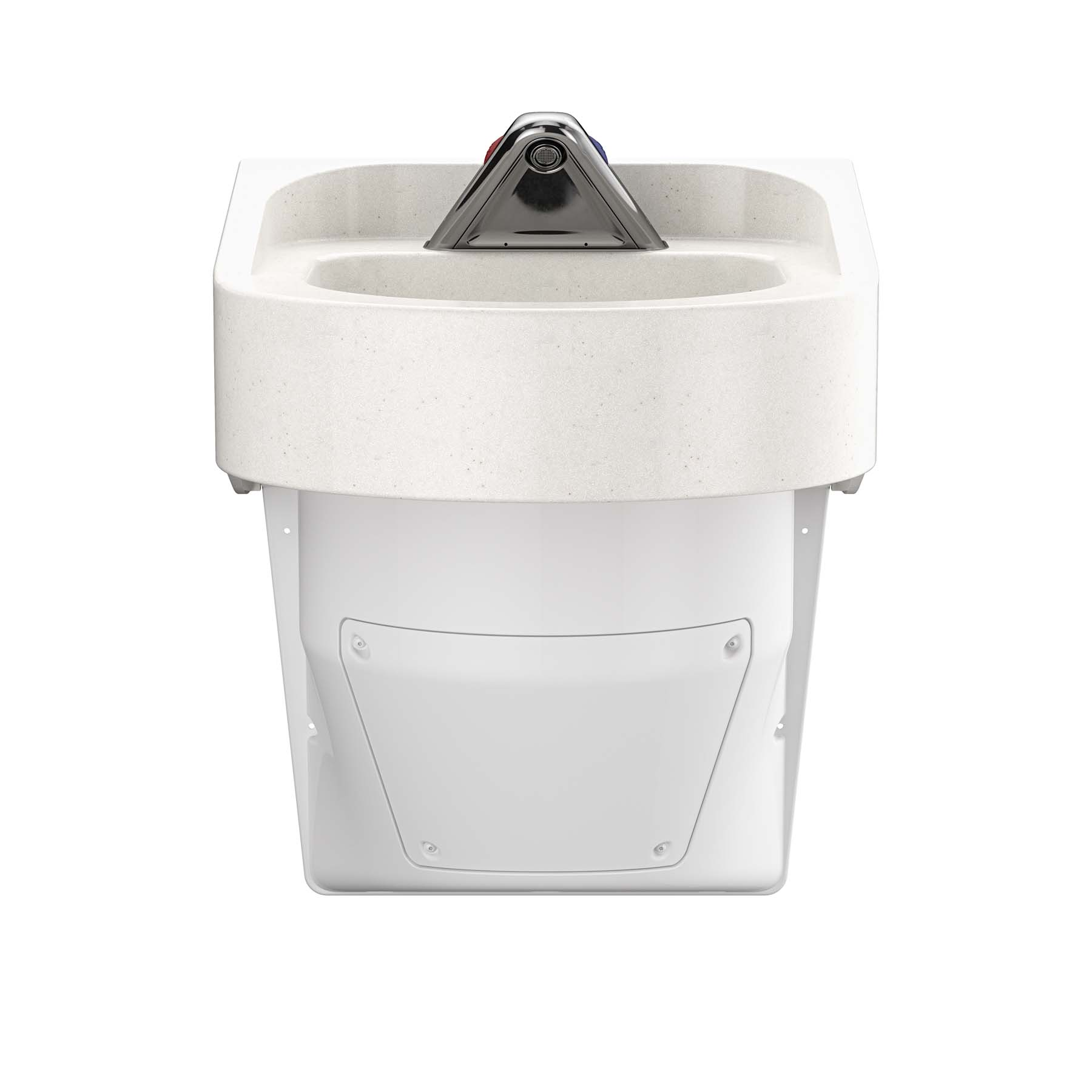 Ligature Resistant Sink and Trap Cover - Front View