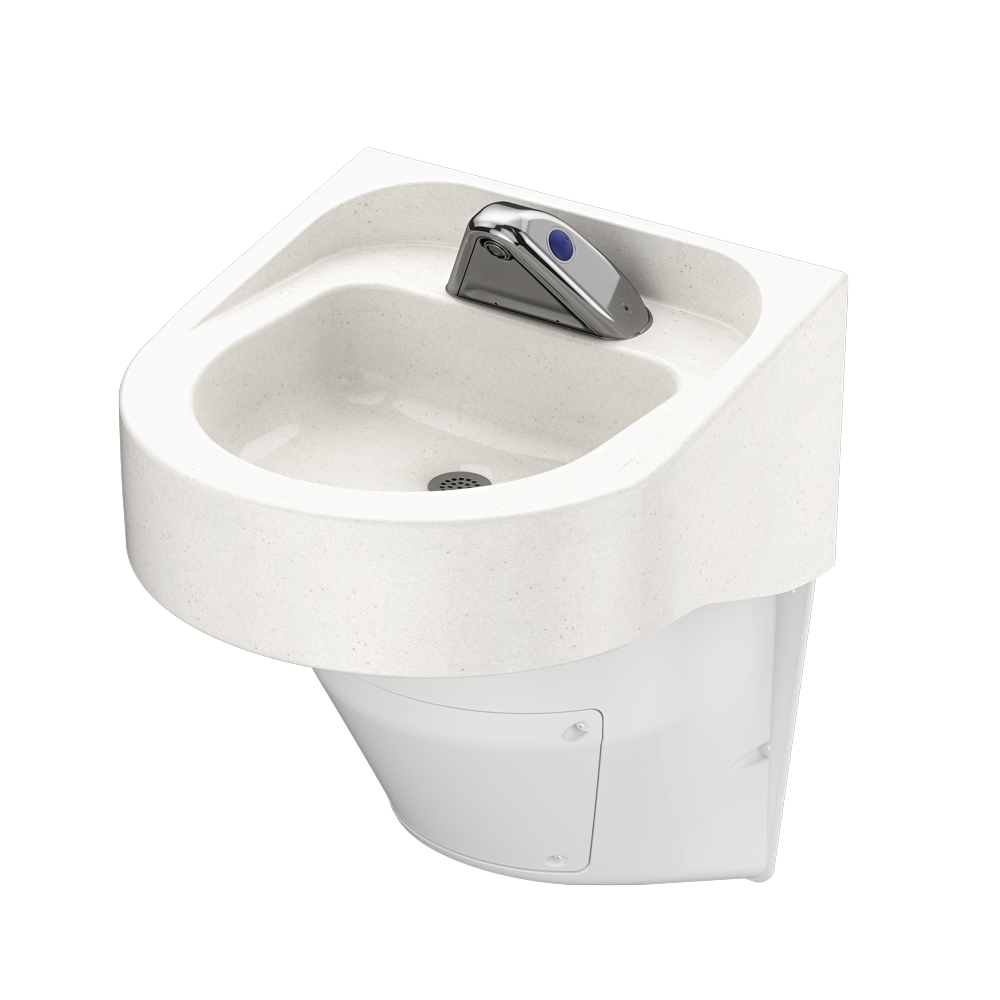 Ligature Resistant Sink Vanilla colored