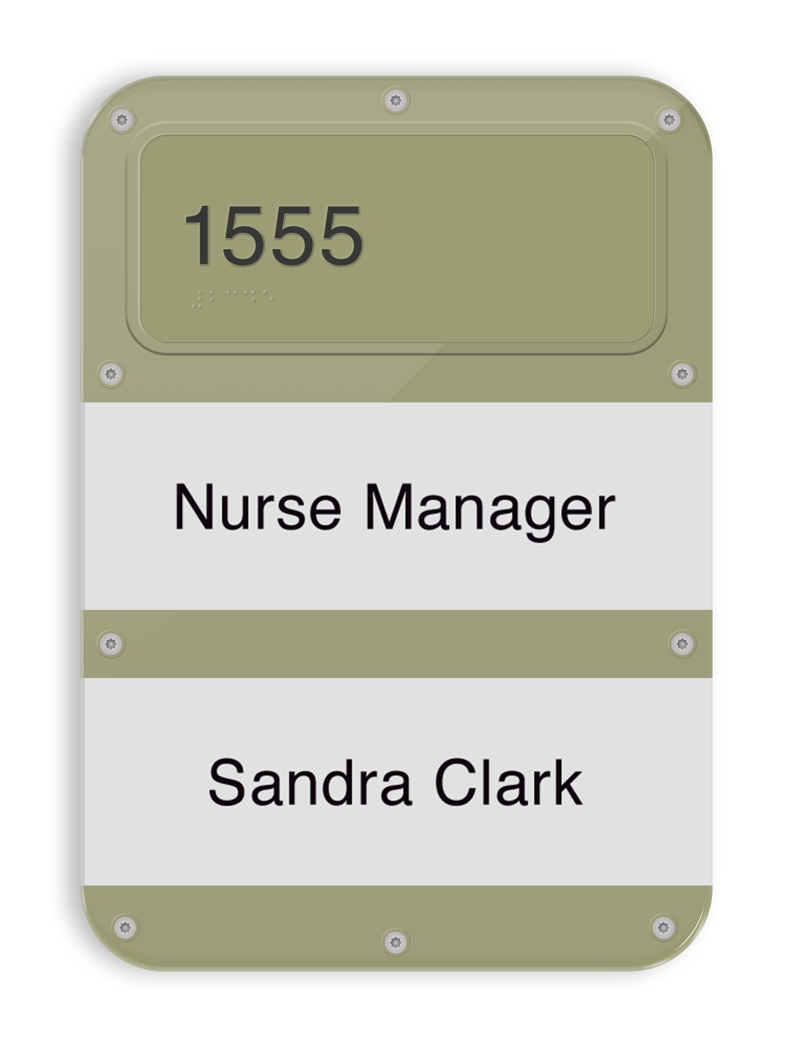 SC05 ADA Identification with Multiple Changeable Paper Names