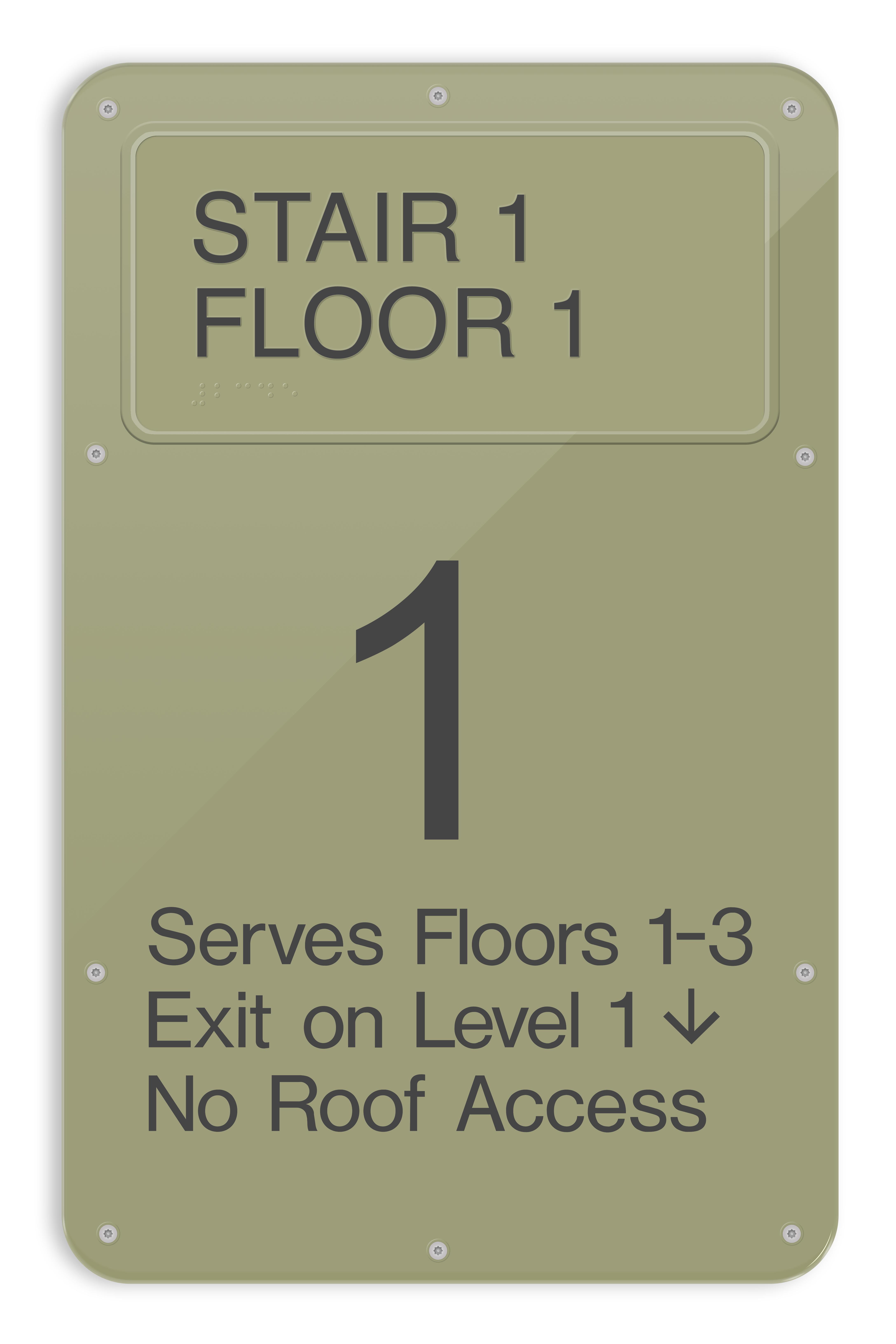 SC14 ADA Regulatory Stairwell