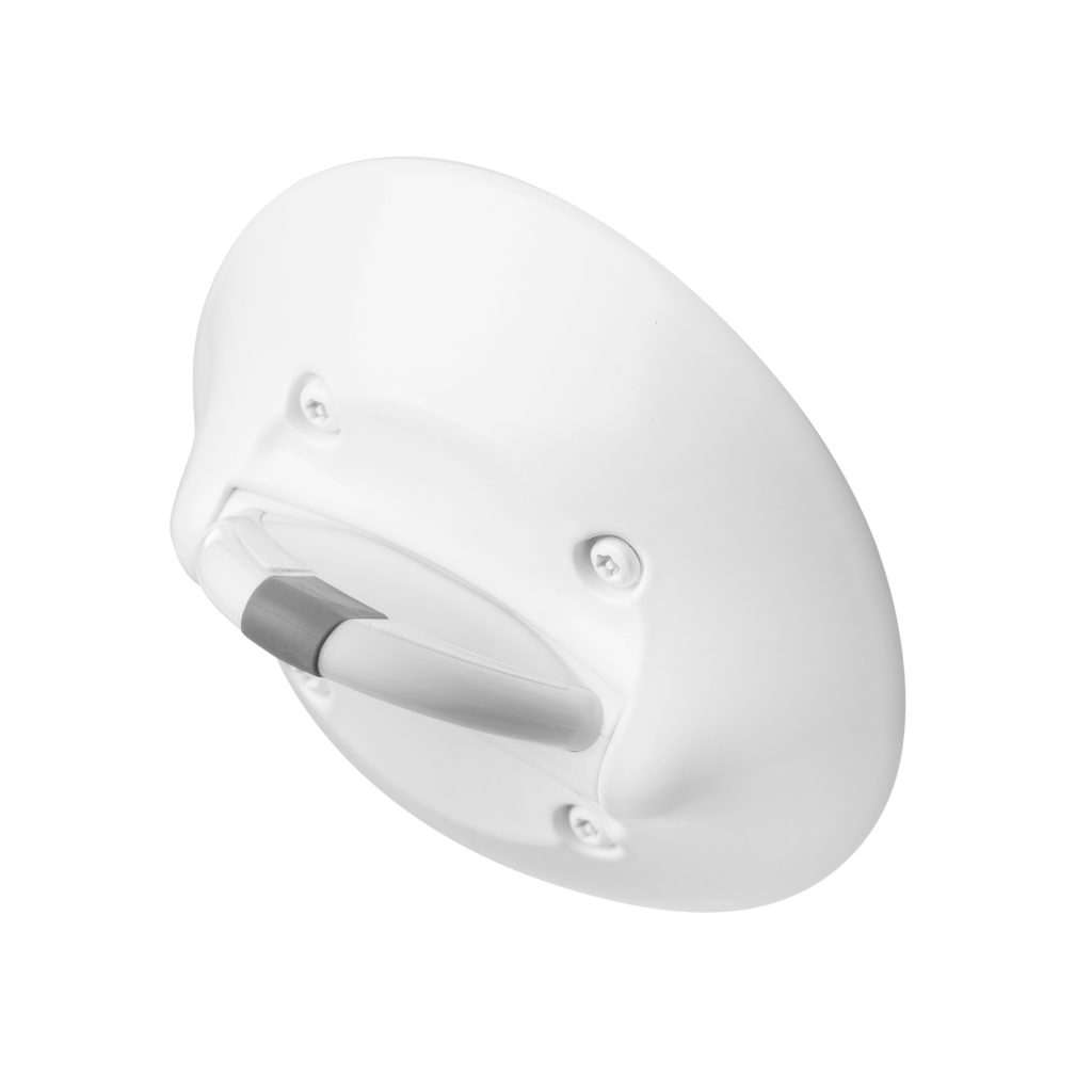 Ligature Resistant Towel Hook TH770 Angle View | Behavioral Safety Products